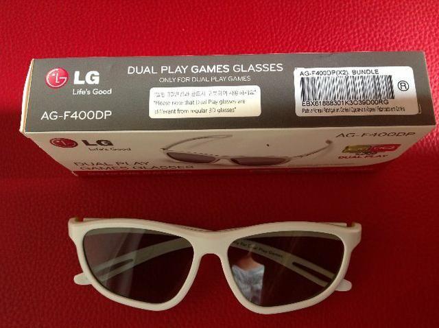 Oculos LG 3D Dual Play Games Glasses