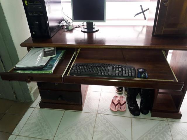 Vendo estante e mesa de computador são 2 e um - Foto 4