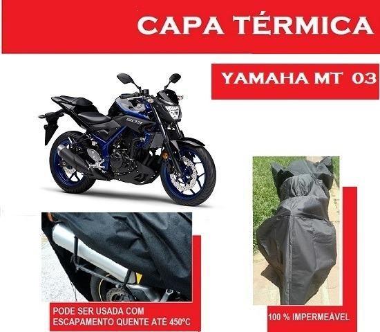 Capa Térmica Yamaha MT03