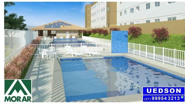 UED-35 - Apartamento 2 quartos perto do centro da serra - Foto 9