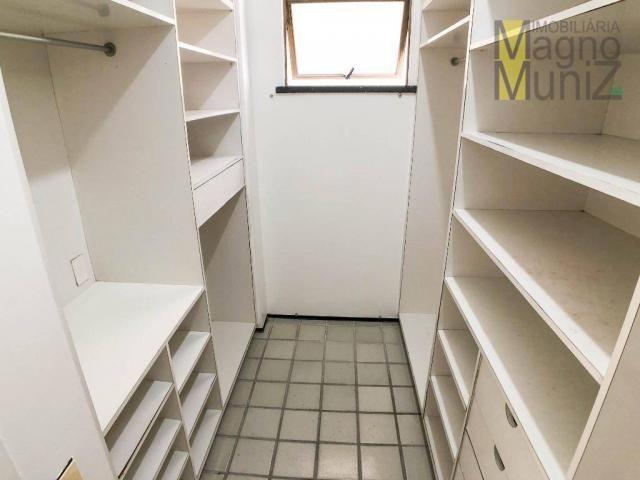 Apartamento com 4 suítes para alugar, 300 m² por r$ 2.500/ano - meireles - fortaleza/ce - Foto 20