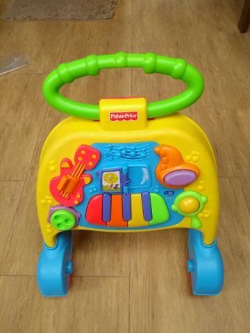 Andador Musical Com Atividades Fisher Price