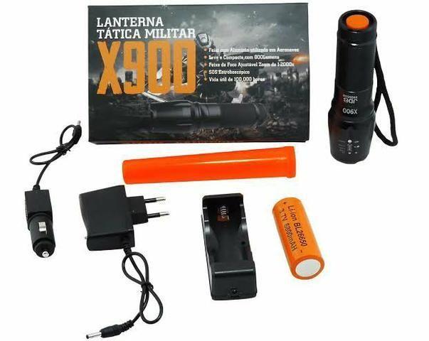 Lanterna Tatica X900 - Super Potente - Promoção - Foto 5