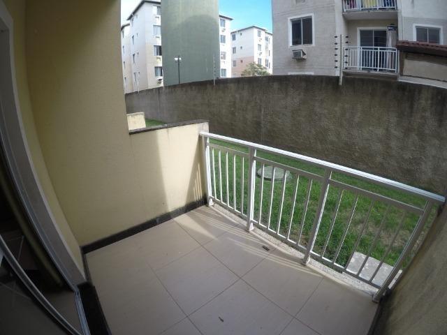 F - Apartamento 2 Qts térreo com Varanda / Praia da Baleia 117 mil - Foto 9