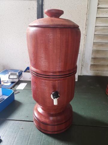 Filtro de madeira rústico - Foto 2