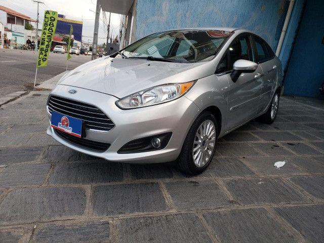 Ford Fiesta 1.6 Titanium 2015 Sedan. Um Dos Mais Novos De Campina
