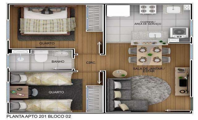 Parque Apoteose - Apartamento 2 quartos em Araçatuba, SP - ID4036 - Foto 5
