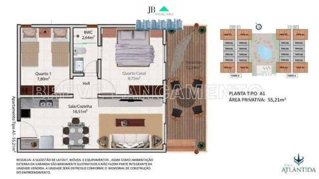 Apartamento - Horto Teresina - JBI23 - Foto 5