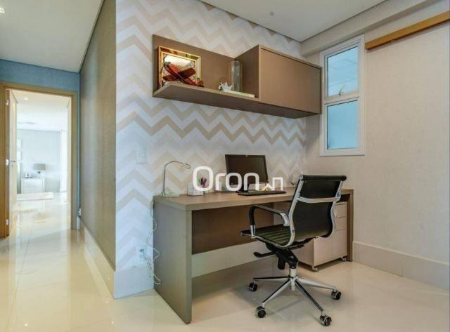 Apartamento com 5 dormitórios à venda, 382 m² por R$ 3.019.000,00 - Setor Oeste - Goiânia/ - Foto 13