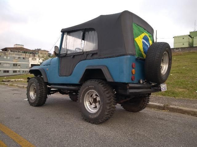 Trovão Azul Terrestre Jeep Willys CJ5 - Foto 8