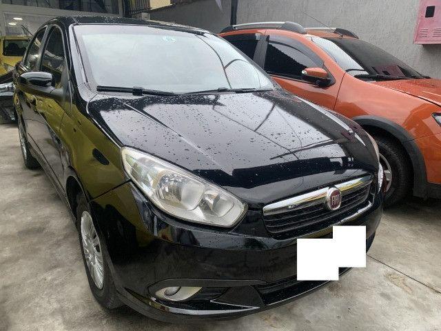 Fiat gran siena tetra, ex taxi completo+gnv+ aprovação imediata, basta ter nome limpo - Foto 6