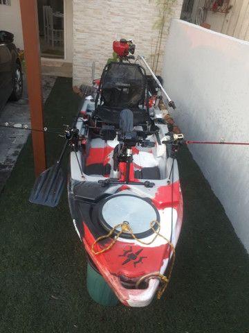 Caiaque Leader com Pedal e Motor - Foto 9