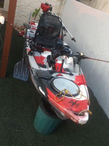 Caiaque Leader com Pedal e Motor - Foto 10