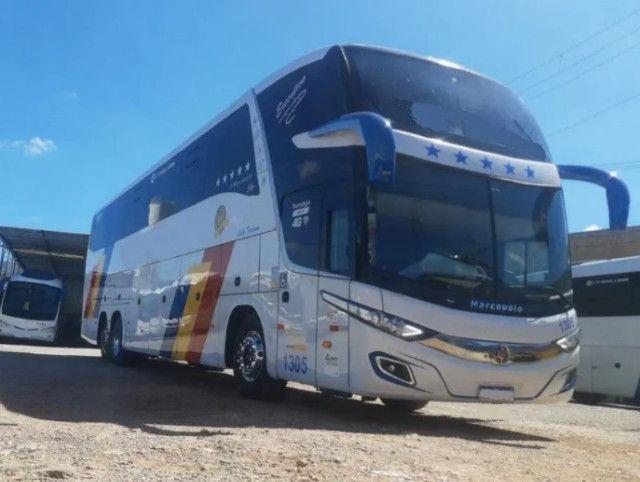Ônibus Marcopolo Paradiso 1600ld G7 Mercedes 0500 Leito - Foto 2