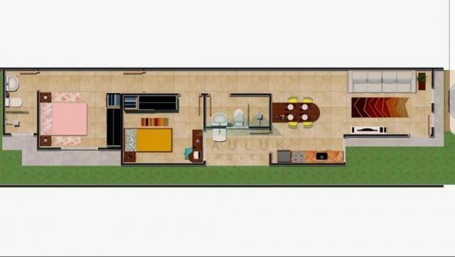 Casa com 2 dormitórios sendo 1 suíte à venda, 65 m² por R$ 220.000 - Loteamento Comercial  - Foto 2