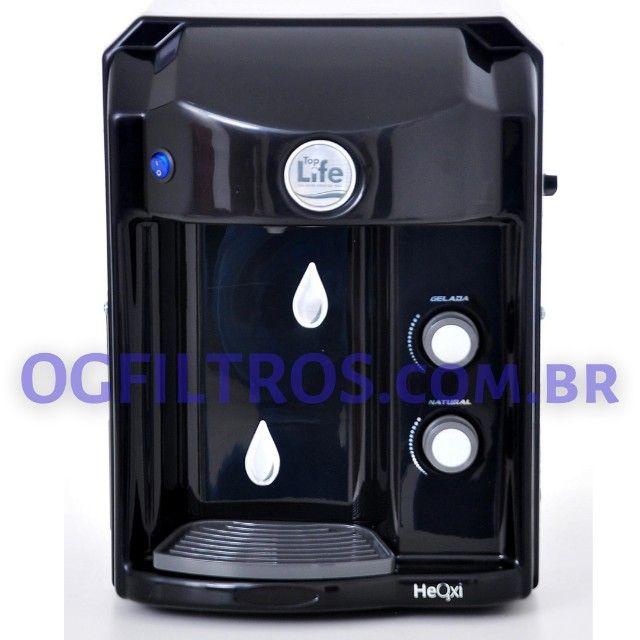 Purificador de água TopLife Alcaliniza, Ioniza e libera ozônio. - Foto 4