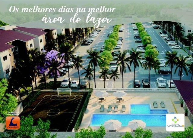 Oportunidade p/ Sair do Aluguel - Cond. Village Alvorada - Aptos c/ 2 quartos - Foto 5