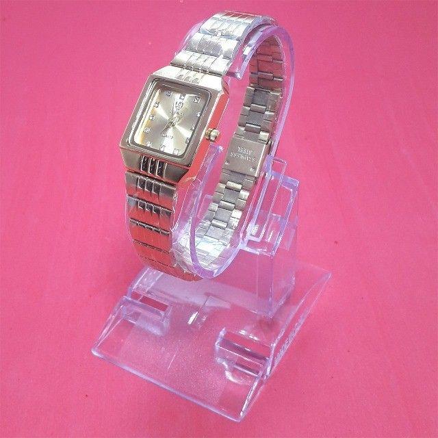 Relógio Skmei Mini Feminino Luxo - Original! - Foto 4