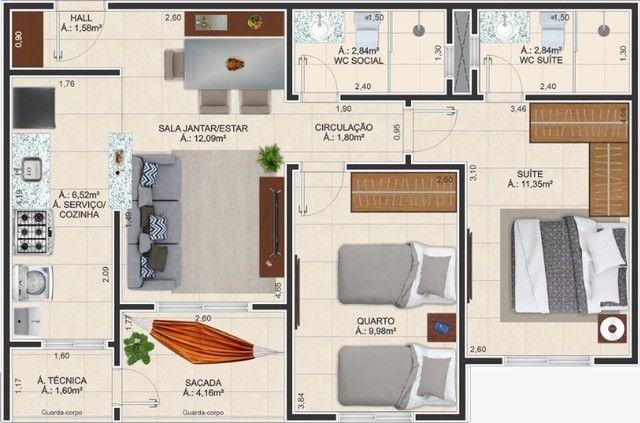 Vendo apartamento no Edifício Colina Park - Foto 2