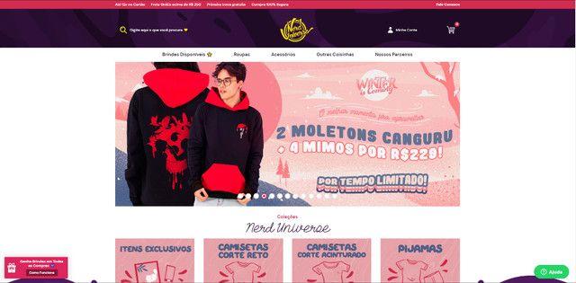 Crie sua loja virtual ou site com o menor PREÇO do Brasil! (Leia a descrição) - Foto 2
