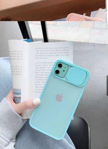 Capa para Iphone 11 com Proteção de Lente de Câmera para Celular - Foto 2