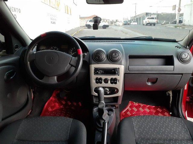 Vendo ou Troco Por Strada ou Montana Renault Logan Expression 1.0 16V - Foto 9