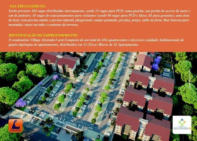 Oportunidade p/ Sair do Aluguel - Cond. Village Alvorada - Aptos c/ 2 quartos - Foto 15