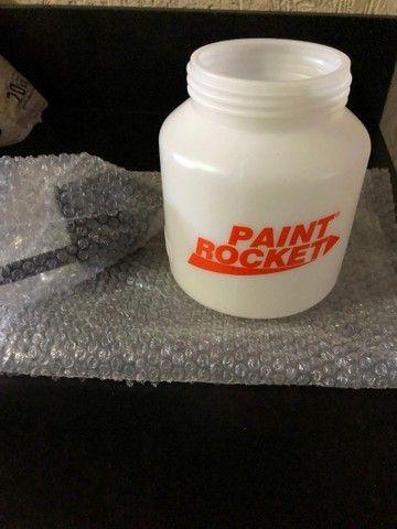 Copo reservatório + Funil para compressor de pintura paint 650w
