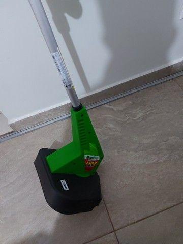 aparador de mato e grama da marca trapp  1.500 watts de potencia usado e conservado - Foto 2