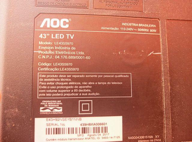 """Peças TV AOC 43"""" - Foto 6"""