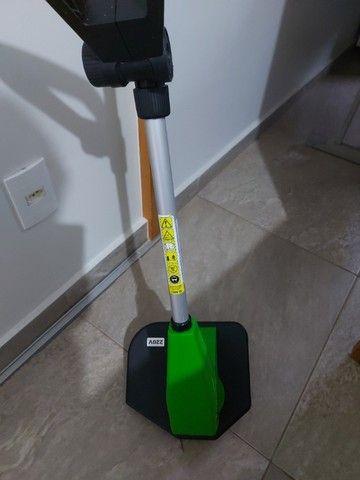 aparador de mato e grama da marca trapp  1.500 watts de potencia usado e conservado - Foto 3