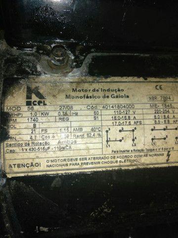 Motor 1cv mono  motor 1/4 bivolt - Foto 4
