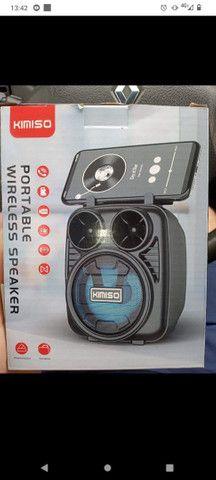 Caixa de som Bluetooth FM - Foto 3