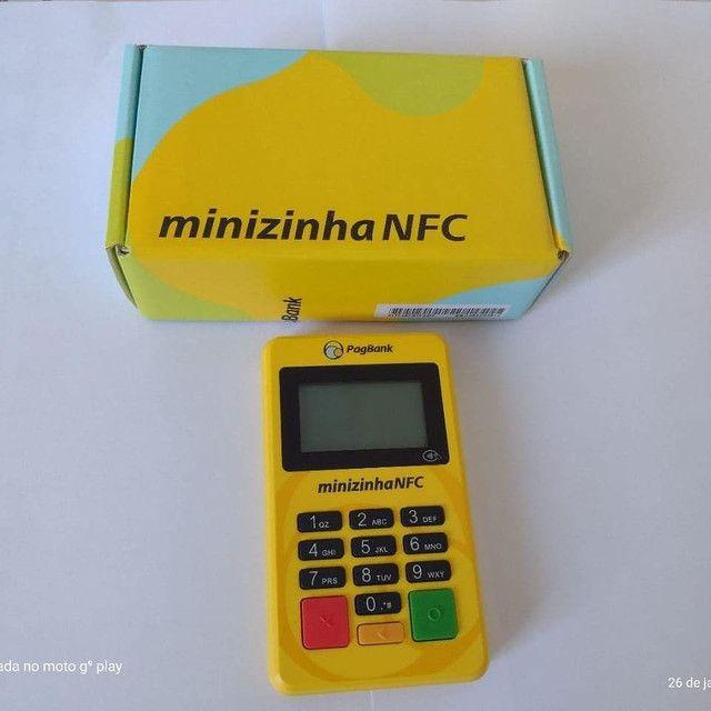 Minizinha NFC passa cartão de débito e crédito. - Foto 3