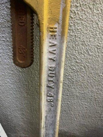 Chave de griffo 48 polegadas americano - Foto 2