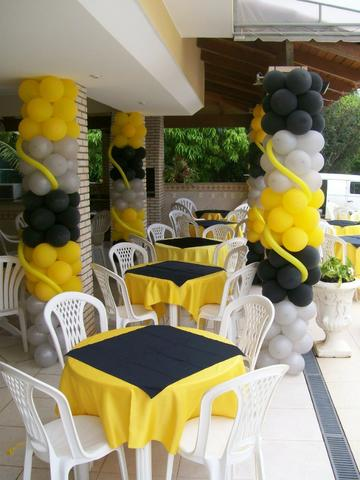 Decoração de Festa Infantil na Escola - Kit escolar temático - #MariaFumacaFestas