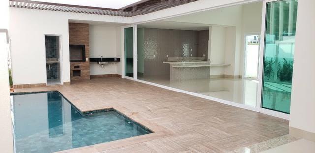 Casa Térrea no Condomínio Florais dos Lagos com 4 suítes - Foto 9