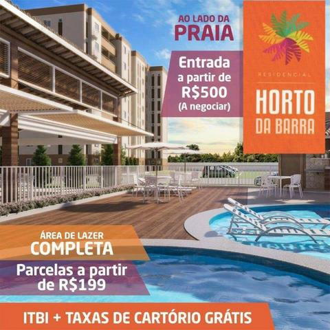 Apartamentos novos na Barra dos Coqueiros 2/4