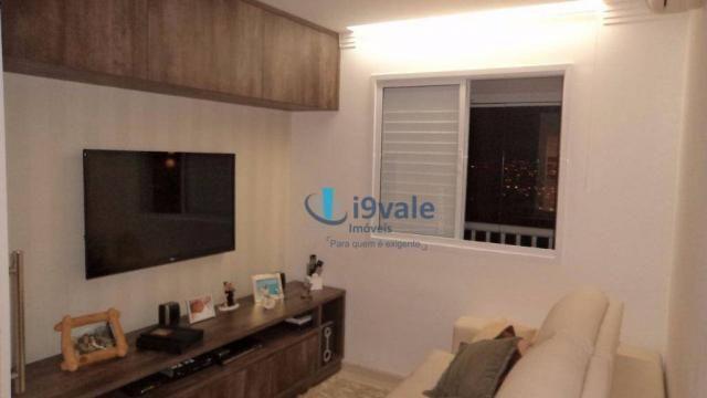 Apartamento com 3 dormitórios à venda, 92 m² por r$ 550.000 - jardim aquarius - são josé d - Foto 12
