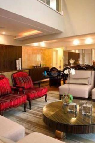 Apartamento de revista! cobertura duplex 300m² 3 vagas, varanda gourmet, lazer completo - Foto 2