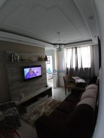 Apartamento com 2 dormitórios à venda, 54 m² por r$ 180.000 - villa branca - jacareí/sp - Foto 12