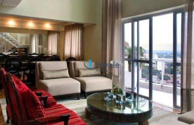 Apartamento de revista! cobertura duplex 300m² 3 vagas, varanda gourmet, lazer completo