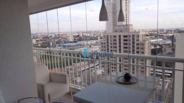 Apartamento com 3 dormitórios à venda, 92 m² por r$ 550.000 - jardim aquarius - são josé d - Foto 4