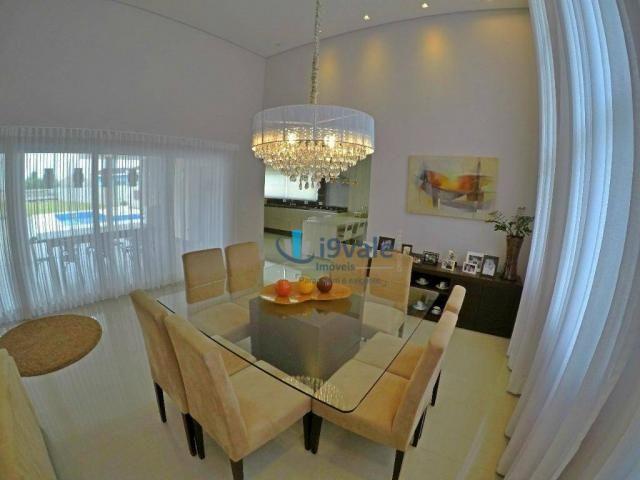 Linda casa térrea à venda, condomínio alto luxo mirante do vale, jacareí-sp - Foto 7