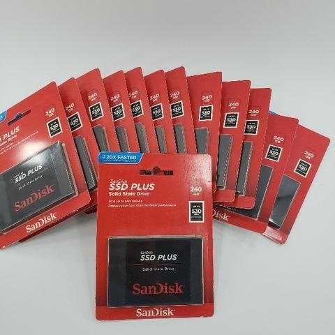 Garantia 6 Meses* 240gb Lacrado 530 Mb/s G26 Sata 3 Hd Ssd Sandisk Plus - Foto 4
