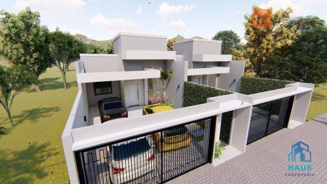 Casa com 3 quartos à venda, 112 m² por r$ 380.000 - recanto tropical iii - cascavel/pr