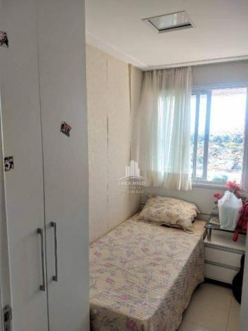 Apartamento no lago jacarey,74 m2,3 quartos,lazer completo,cidade dos funcionários - Foto 15