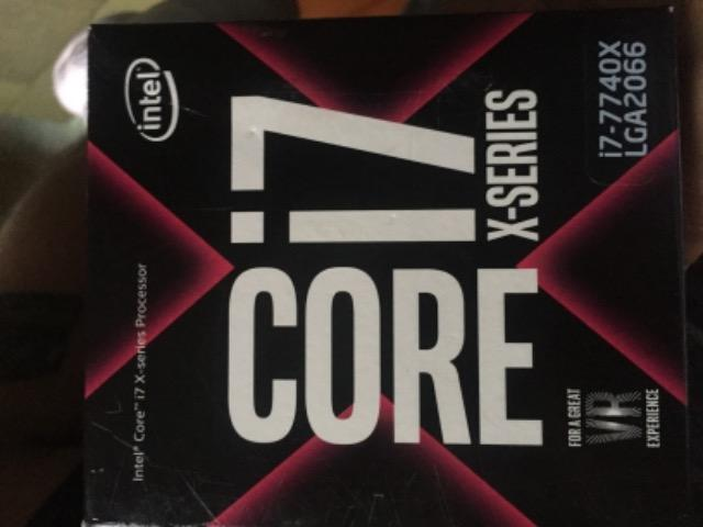 Processador intel i7 7740x novo 500,00 somente hoje - Foto 4