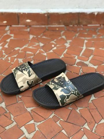 Chinelo Nike Benassi Jdi Print Unissex - Foto 2