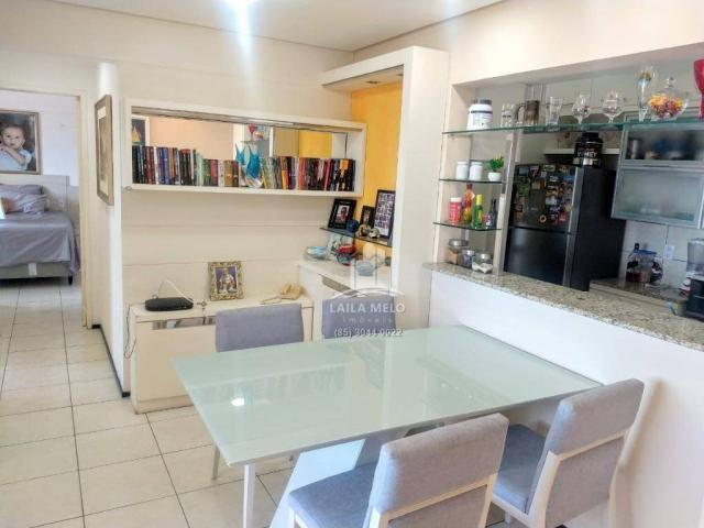 Apartamento projetado,60 m2,3 quartos, 2 vagas,edson queiroz - Foto 8